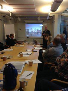 Meeting at Växjö on 15. November 2016.