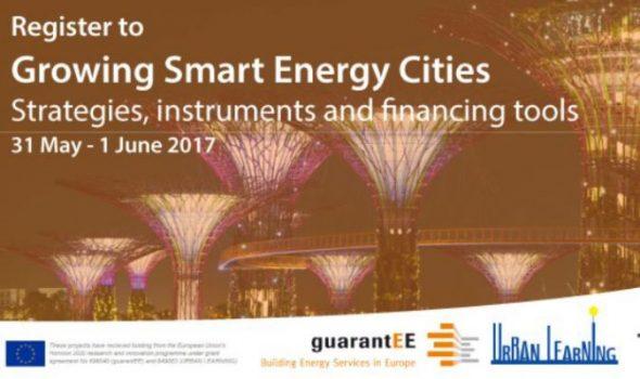 Growing Smart Energy Cities Strategies, Instruments and Financing Tools, 31 May – 1 June 2017, Berlin