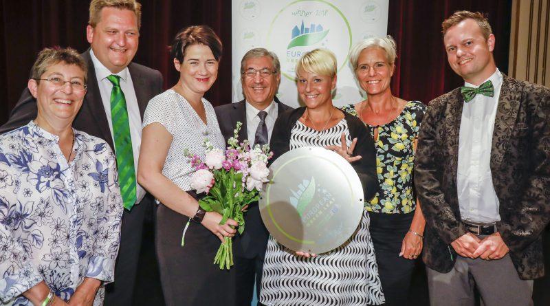 Växjö and the European Green Leaf Award 2018